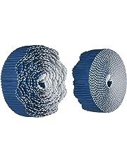 "Bordette 0037186 Scalloped Decorative Border, 50' Large x 2-1/4"" Size, Rich Blue"