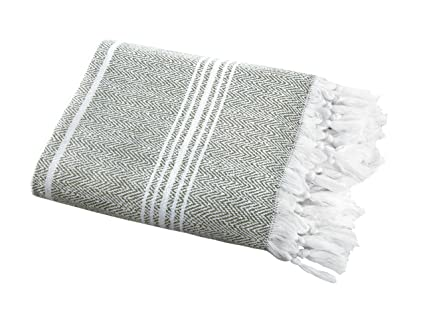 117621b13ceba SALBAKOS Incredibly Soft, Turkish Peshtemal Fouta Towel, Eco-Friendly and  Oeko-Tex
