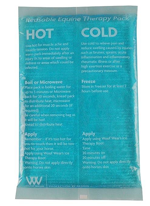 Woof Wear Paquete de Gel Gemelo Caliente y frío: Amazon.es ...