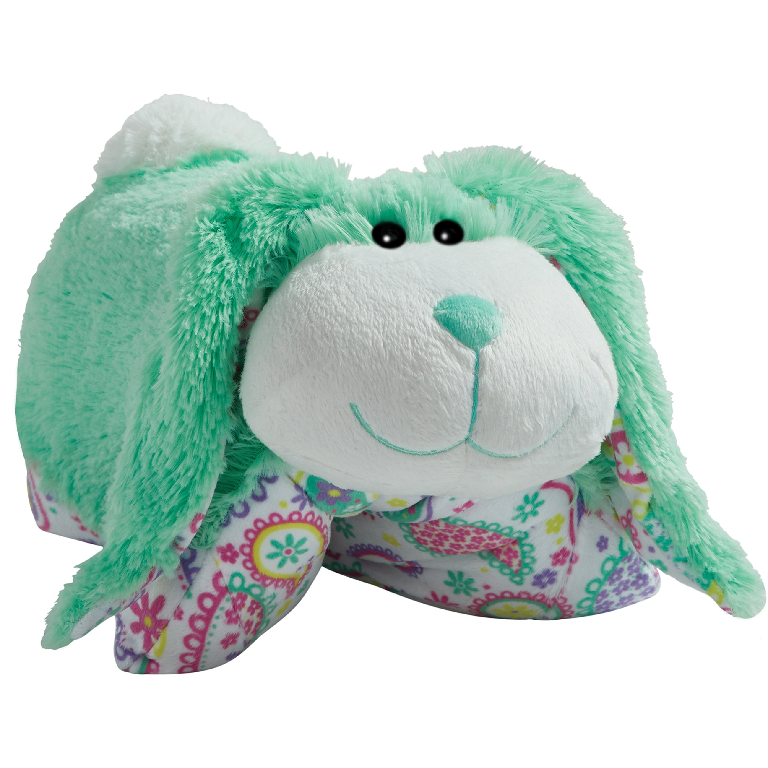Pillow Pets Springtime, Mint Bunny, 18'' Stuffed Animal Plush Toy by Pillow Pets