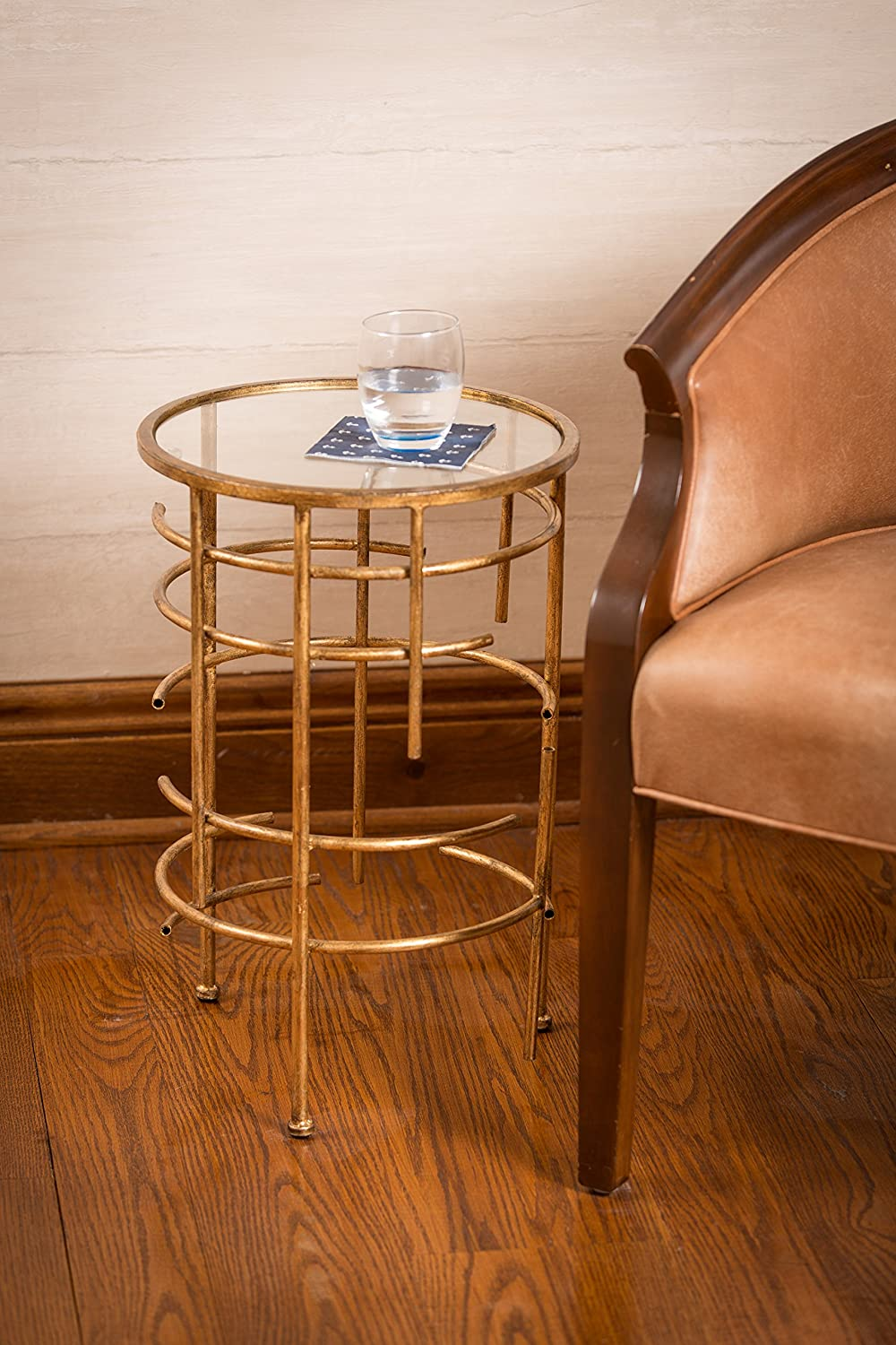 Cooper Classics Kate Table Gold