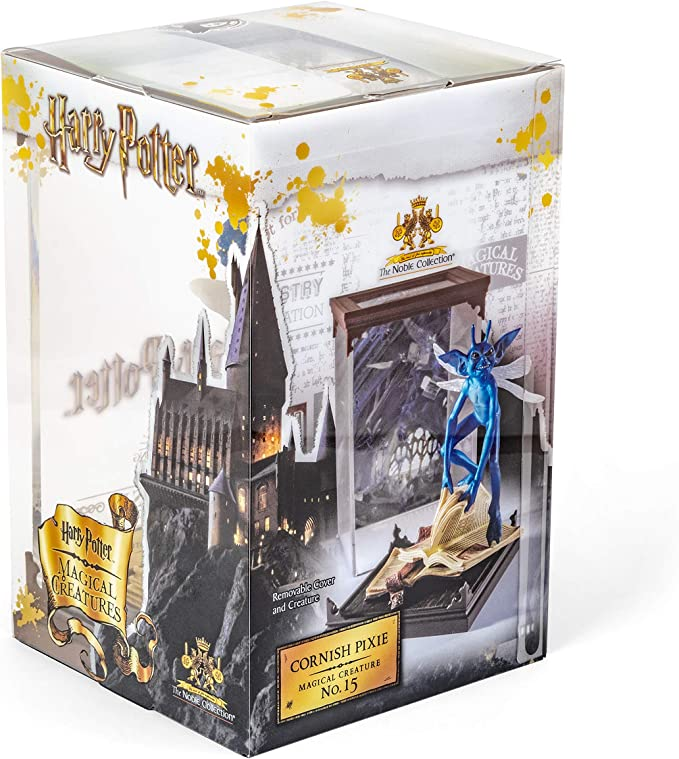 Noble Collection Harry Potter Figurita Coleccionable GNOME Pixie con Pantalla de Criaturas mágicas: Amazon.es: Juguetes y juegos