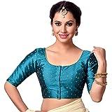 Studio Shringaar Women's Polyester Saree Blouse