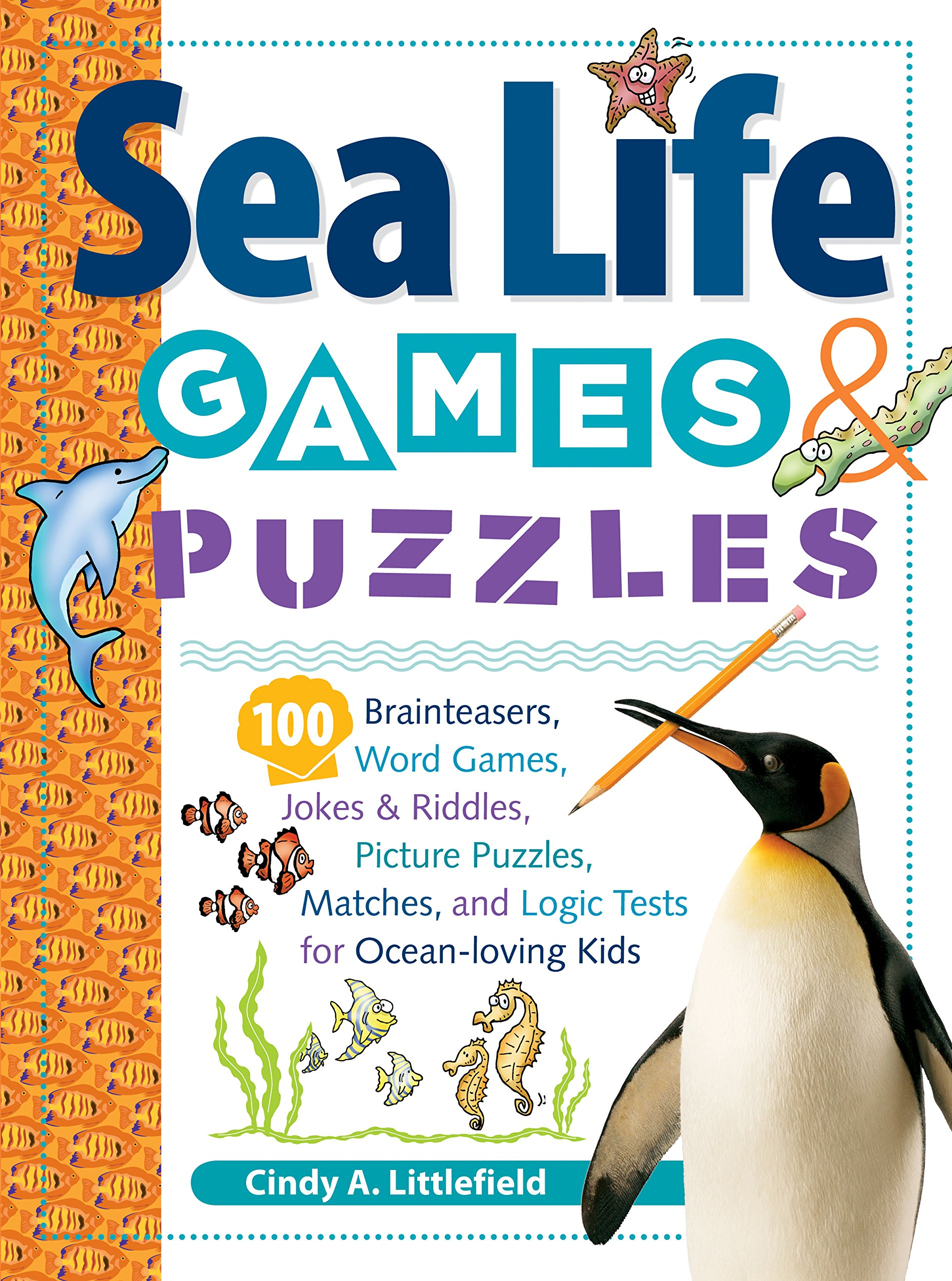 Read Online Sea Life Games & Puzzles (Storey's Games & Puzzles) pdf