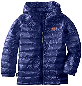 Amazon.com: Skechers Little Boys' Lightweight Hooded Puffer Jacket ...