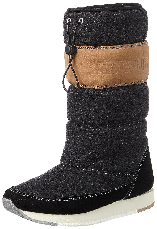 NAPAPIJRI Footwear Rabina, Botas de Nieve para Mujer Negro (Black N00)