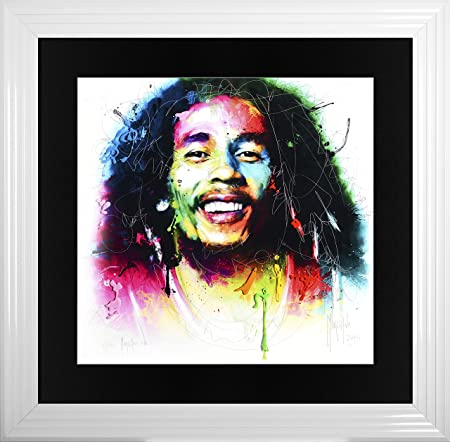 Liquid Glass - BOB MARLEY - by Patrice Murciano - Signed and ...