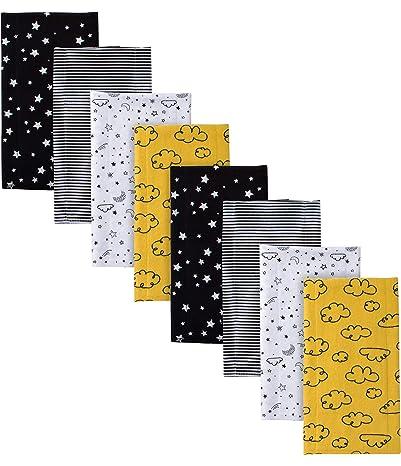 Gerber Baby Boys' 8-Pack Flannel Burp Cloth