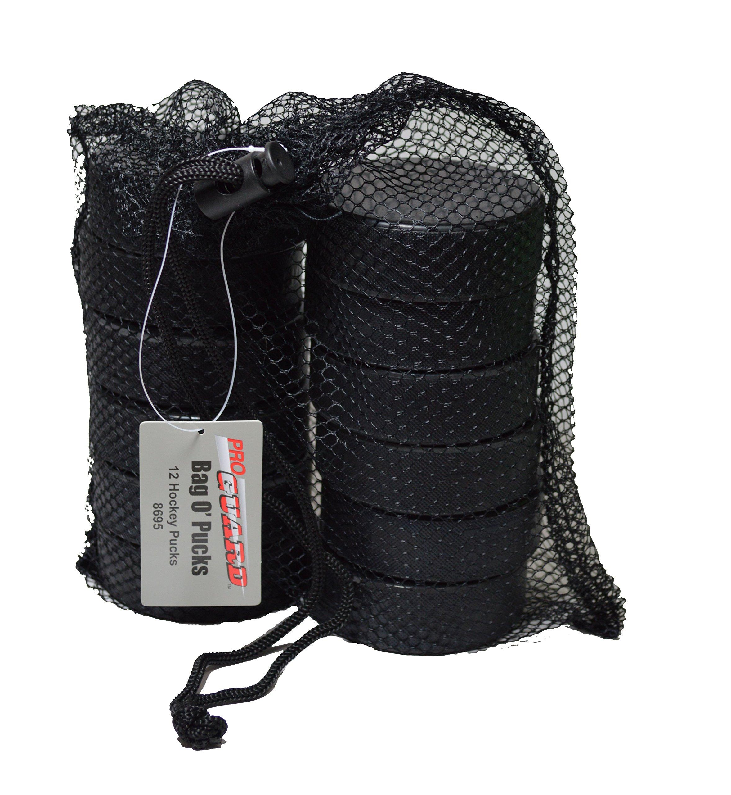 Proguard Bag O' Pucks, 12 Pucks in a Mesh Bag
