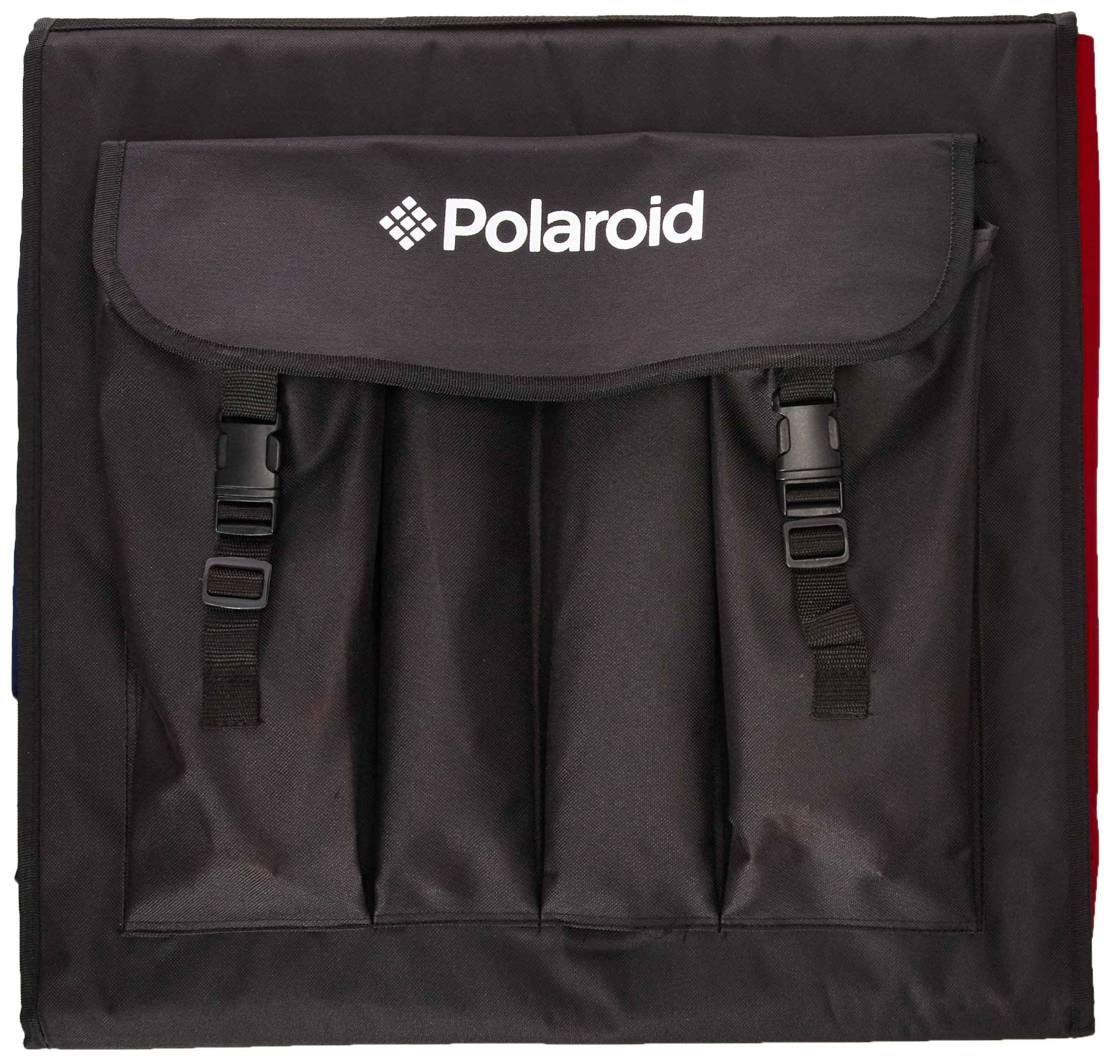 Polaroid Pro Table Top Photo Studio Kit with 2 LED Lights, 2 Light Stands, 1 Tripod, 4 Color Backdrops, 3 Diffuser Screens, 1 Carry Bag by Polaroid (Image #2)