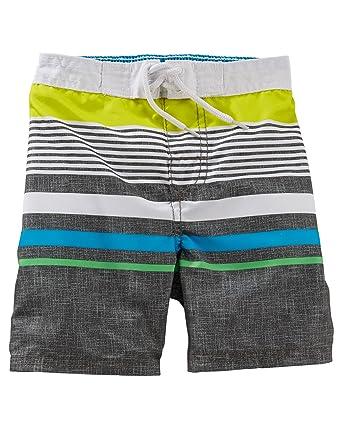1ded9d4772 Amazon.com: OshKosh B'Gosh Baby Boys' Bathing Swim Trunks- Multi ...