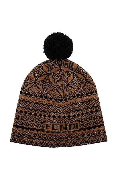 Cappelli Fendi Unisex - Lana (FXQ538A112F0QB8)  Amazon.it  Abbigliamento 92bd5ce8ddaa