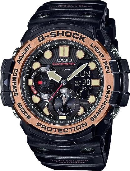 [カシオ] 腕時計 ジーショック GULFMASTER GN-1000RG-1AJF ブラック