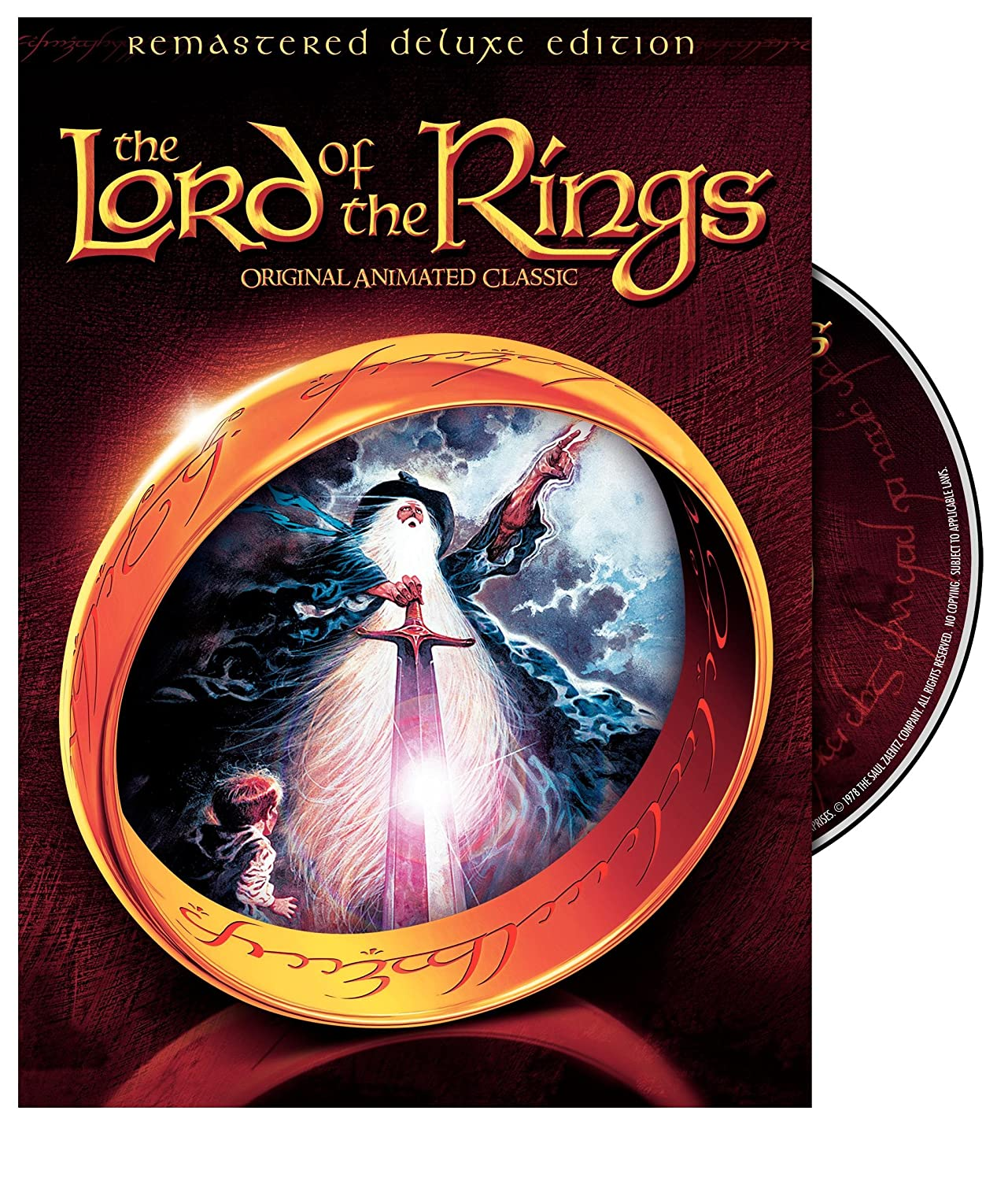 Amazon com: The Lord of the Rings: 1978 Animated Movie