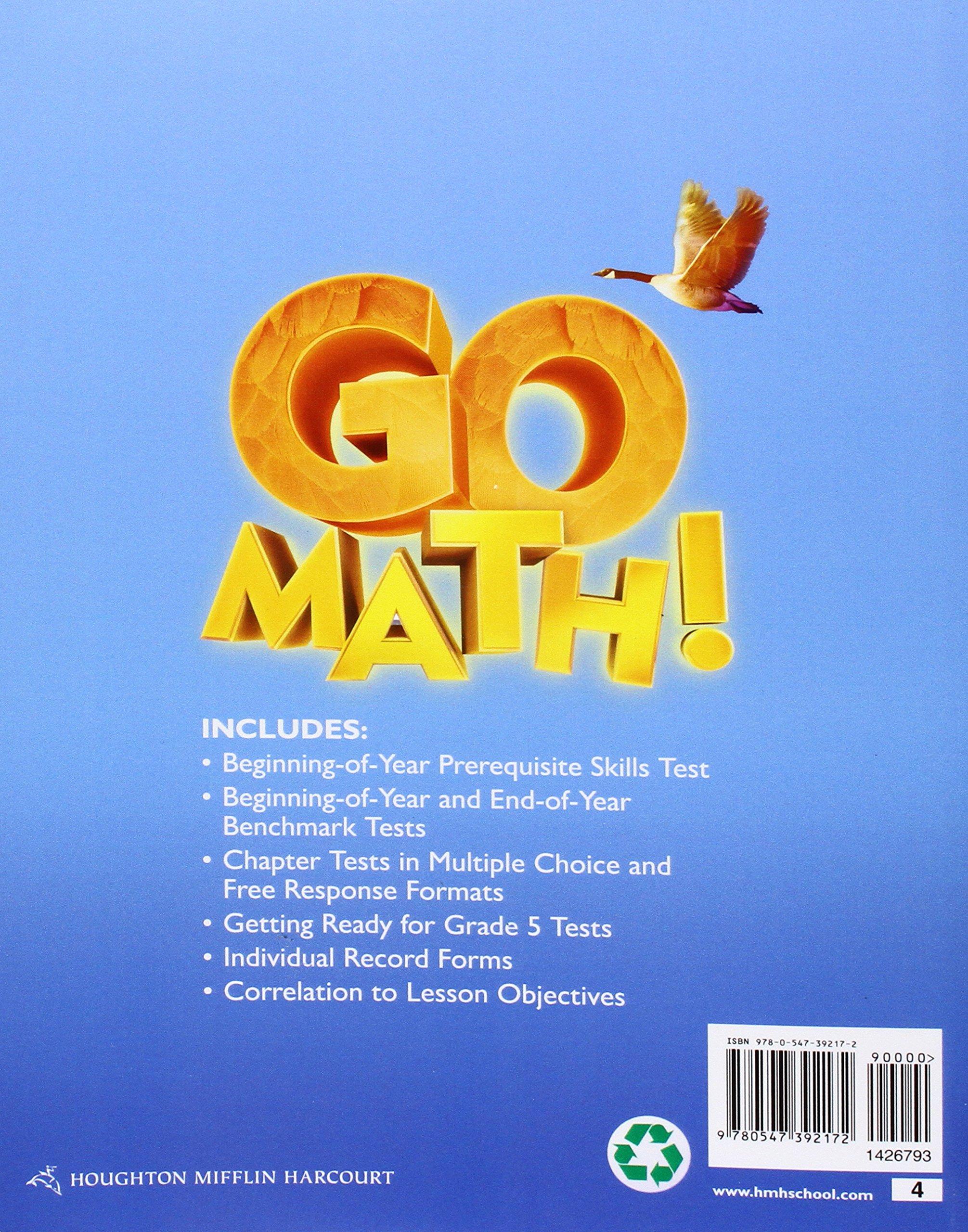Assessment Guide Grade 4 (9780547392172): HMF Harcourt: Books