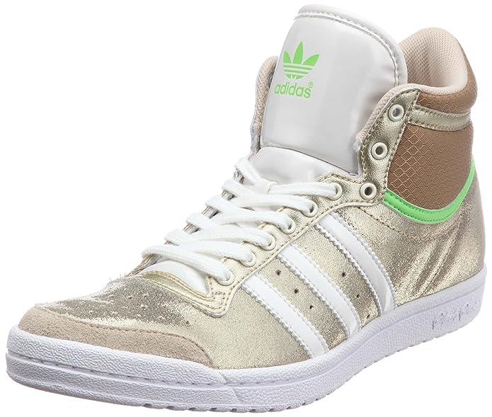Adidas Top Ten Hi Sleek - Zapatilla Deportiva Alta para Mujer ...