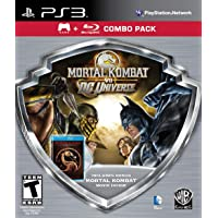 Mortal Kombat vs DC Universe - Silver Shield Combo Pack - Playstation 3