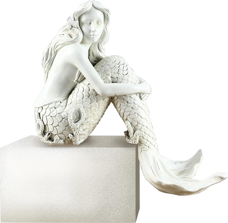 "Young's Resin Mermaid Shelf Sitter, 7"" (14129)"