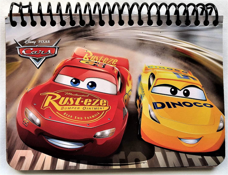 Disney Cars Lightning McQueen Small Memo Book Autograph Book