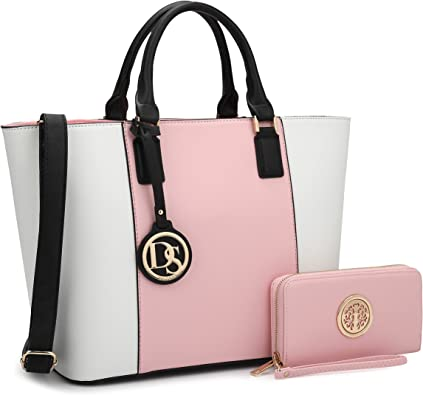 Amazon.com: DASEIN Women's Handbags Purses Large Tote Shoulder Bag Top  Handle Satchel Bag for Work: Shoes