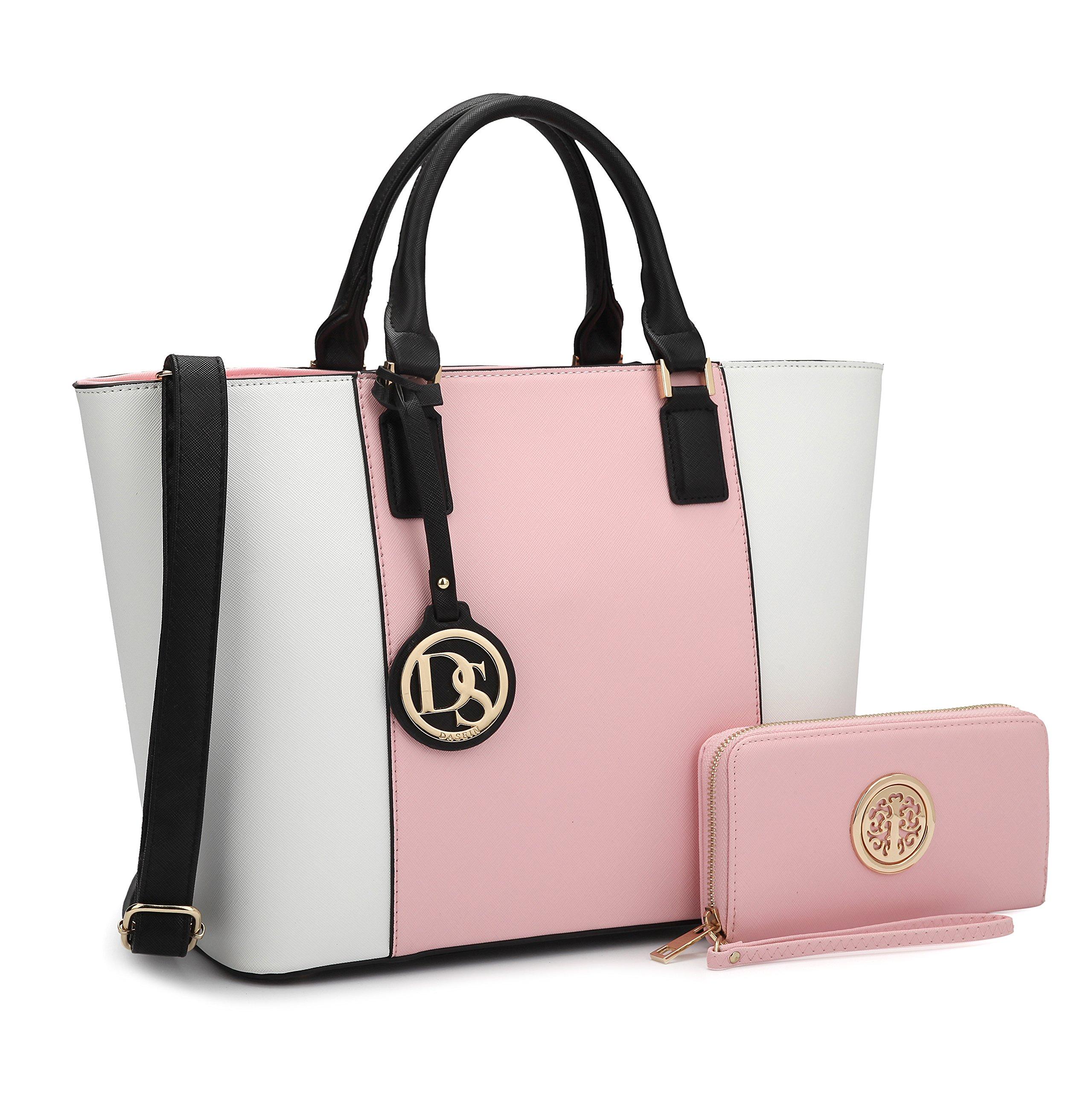 DASEIN Women's Handbags Purses Large Tote Shoulder Bag Top Handle Satchel Bag for Work by Dasein