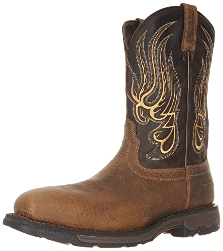 3189c8333b1 Ariat Men's Workhog Mesteno Wide Square Composite Toe Work Boot