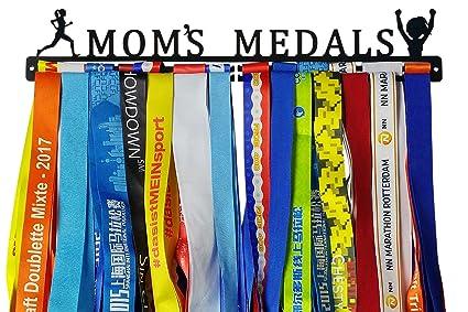 Amazon.com: Running medalla – Soporte de mamá medallas ...