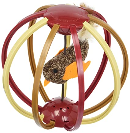 Petlinks Bird Cage Cat Toy Electronic Bird-Sound Chase Toy