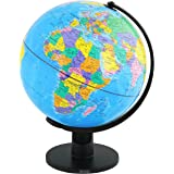 DHOUTDOORS World Globe Earth Map With Swivel Stand 20cm