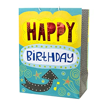 Amazon Hallmark Mega Birthday Gift Bag Happy
