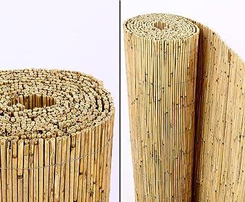 Bambus Discount amazon de schilfrohrmatten premium 160 hoch x 600cm breit