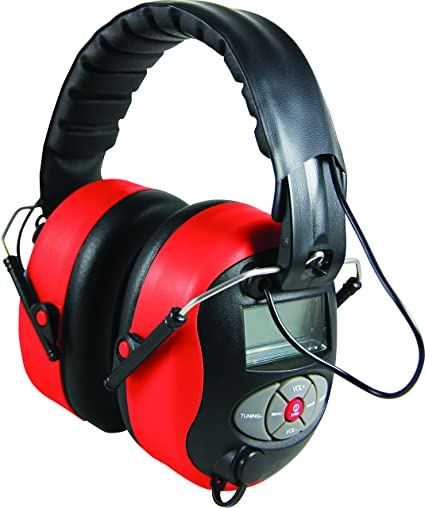 Delta Plus Venitex Pit Radio 2 SNR 28dB Electronic Ear Defenders FM MP3 AUX PPE - - Amazon.com