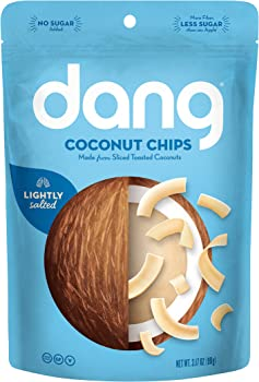 Dang Gluten Free Toasted Coconut Chips 3.17 Ounce Bags