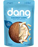 Dang Toasted Coconut Chips, Keto, Paleo, Gluten Free, Lightly Salted, Unsweetened, 3.17 Ounce (1 Count)