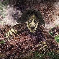 Prextex Halloween Décor Groundbreaker Zombie Outdoor Halloween Decoration