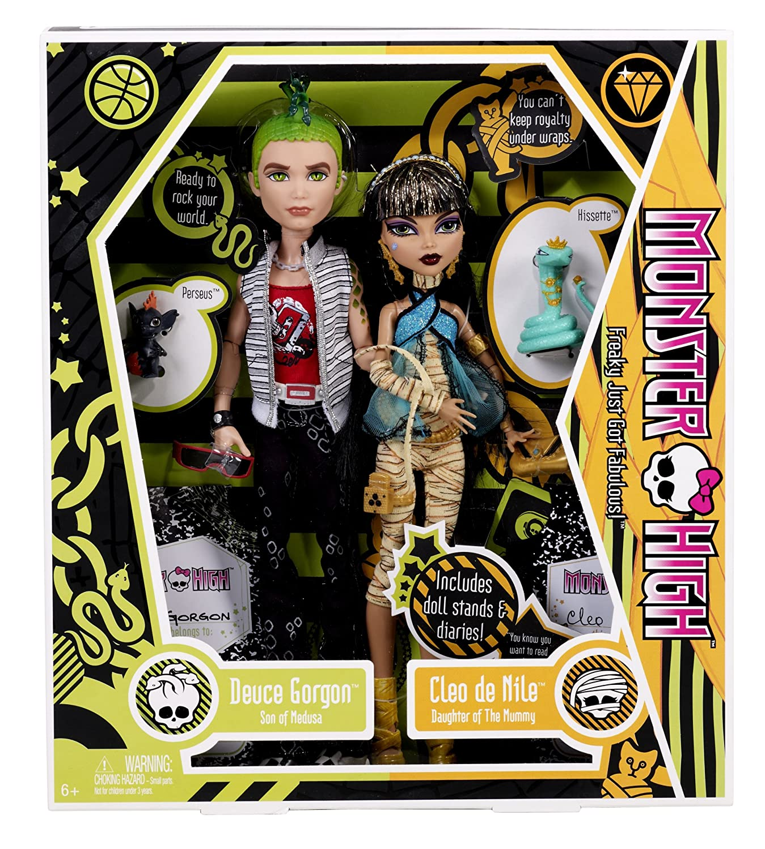 Worksheet. Amazoncom Monster High Cleo De Nile and Deuce Gorgon Giftset