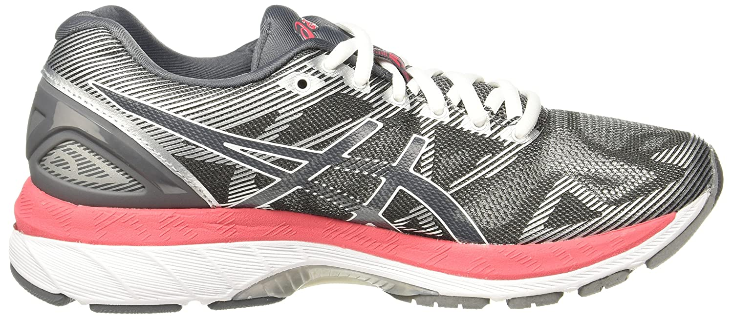 ASICS Women's Gel-Nimbus 19 US|Carbon/Rouge Running Shoe B0739ZYVK1 6.5 B(M) US|Carbon/Rouge 19 Red/White d278b9