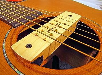Gitarre Schallloch Tonabnehmer Magnetische Pickup Vorverstärker für