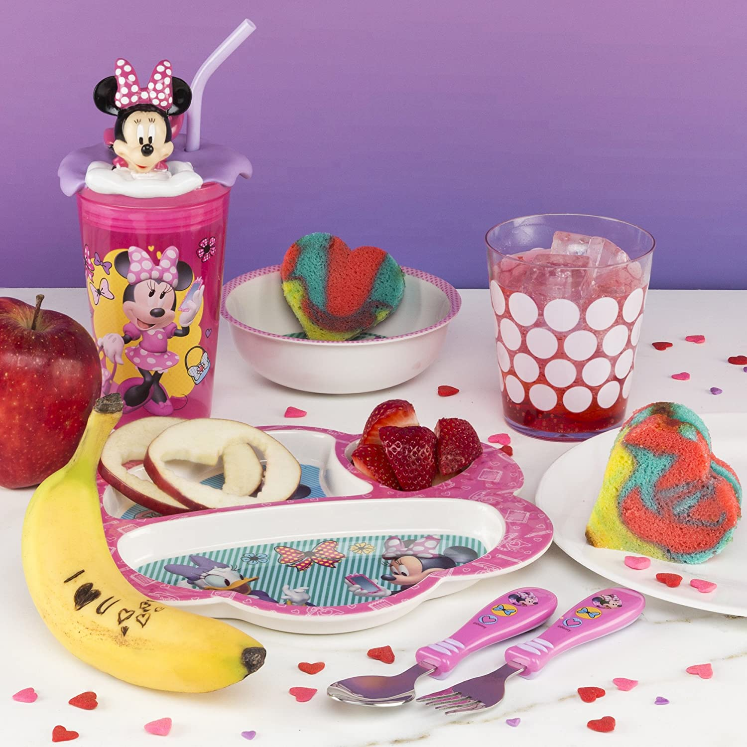 Zak Minnie Mouse 3 Section Tray Discontinued by Manufacturer