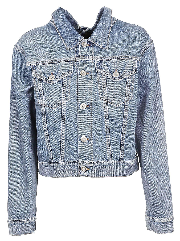 Brand Size 44 UNRAVEL PROJECT Women's UWYE004R180840017100 blueee Cotton Jacket