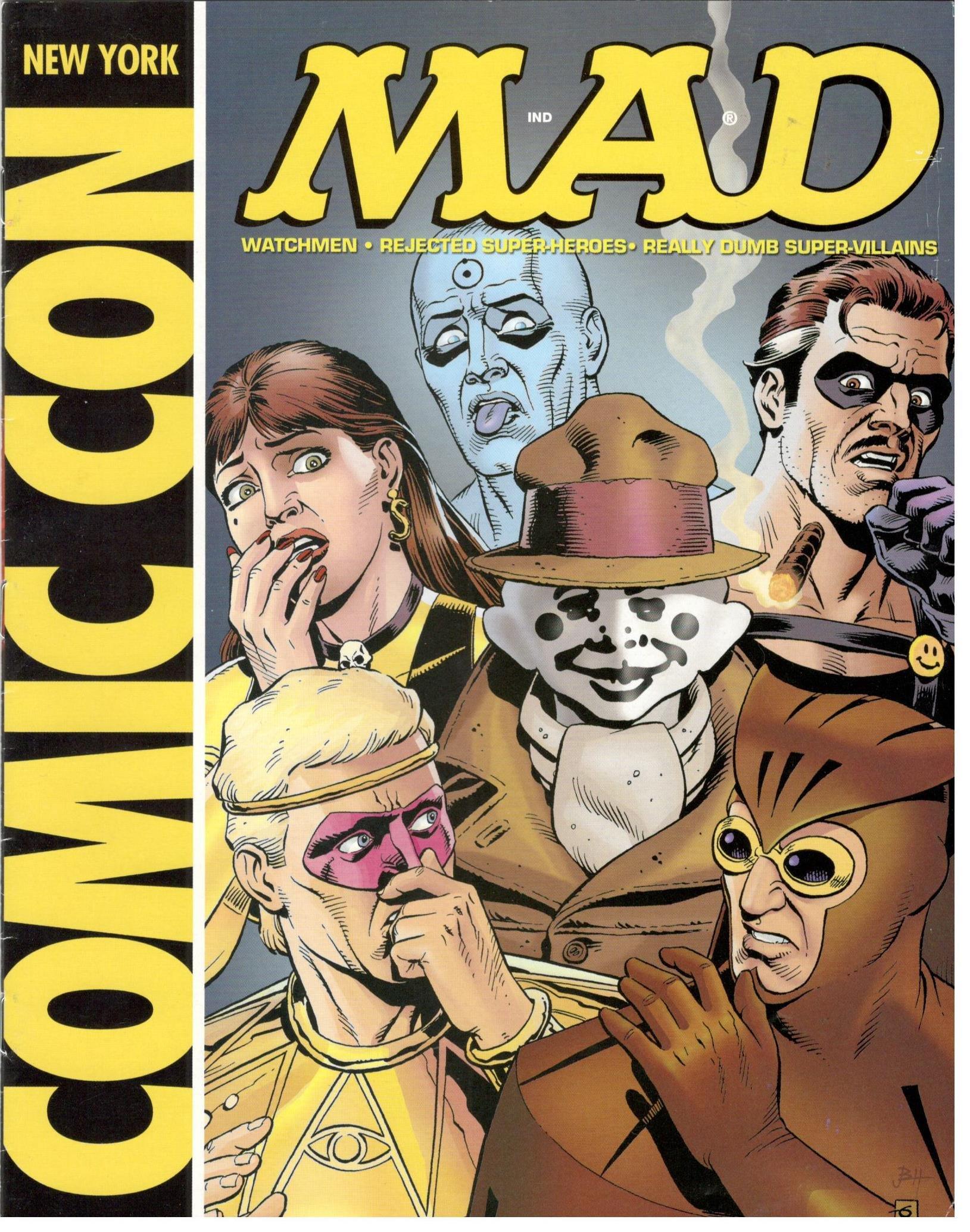 Download Mad Magazine New York Comic Con Special (Watchmen) pdf epub