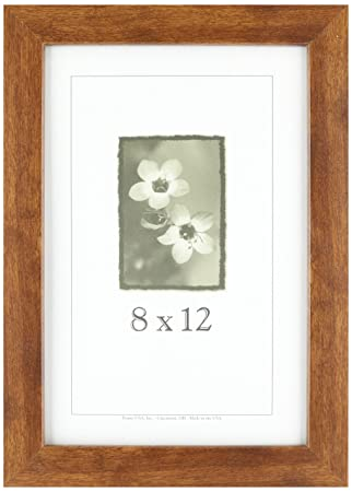 Amazon.com - 8x12 Wood Picture Frame (Canadian Walnut) - Made in the ...