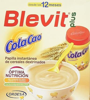 BLEVIT Plus ColaCao - 600 gr: Amazon.es: Alimentación y bebidas