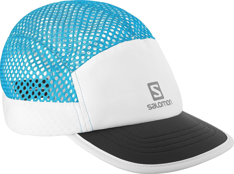 Salomon Gorra de malla unisex, AIR LOGO CAP, Talla única ajustable, Violeta, L40045500: Amazon.es: Deportes y aire libre