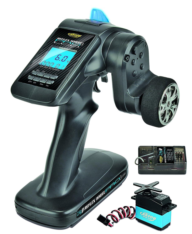 Carson 500500056 – FS 3 K Reflex Wheel Pro 3 LCD 2.4 G di Marine