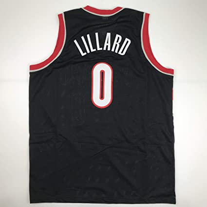 62d6aaa54 Image Unavailable. Image not available for. Color  Unsigned Damian Lillard  Portland ...