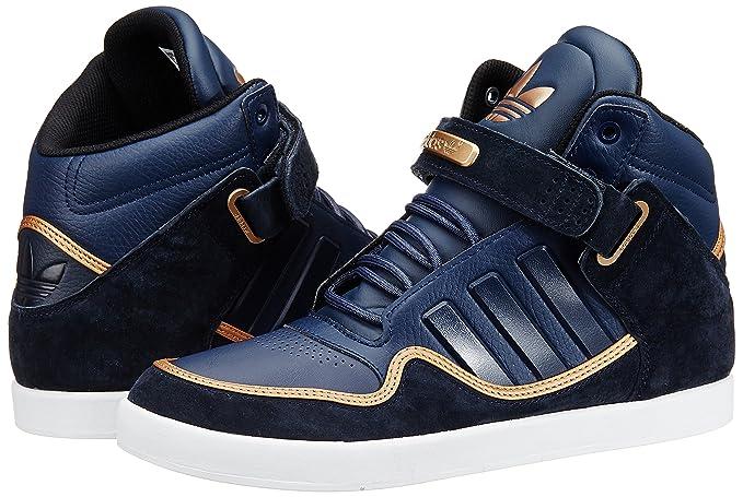 timeless design df537 bb7d1 Adidas AR 2.0 M17047, Baskets Mode Homme, Bleu marine, blanc et or, 39 1 3   Amazon.fr  Sports et Loisirs