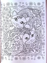 Creative Haven Creative Cats Coloring Book Creative Haven Coloring Books Marjorie Sarnat