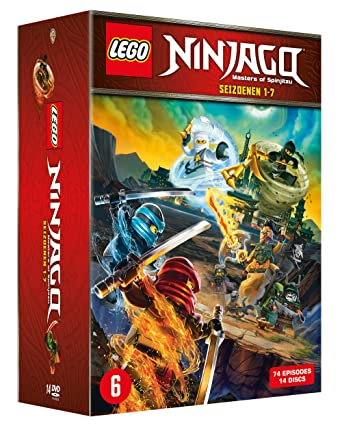 LEGO Ninjago: Masters of Spinjitzu - Complete Series 1 - 7 14 DVD ...