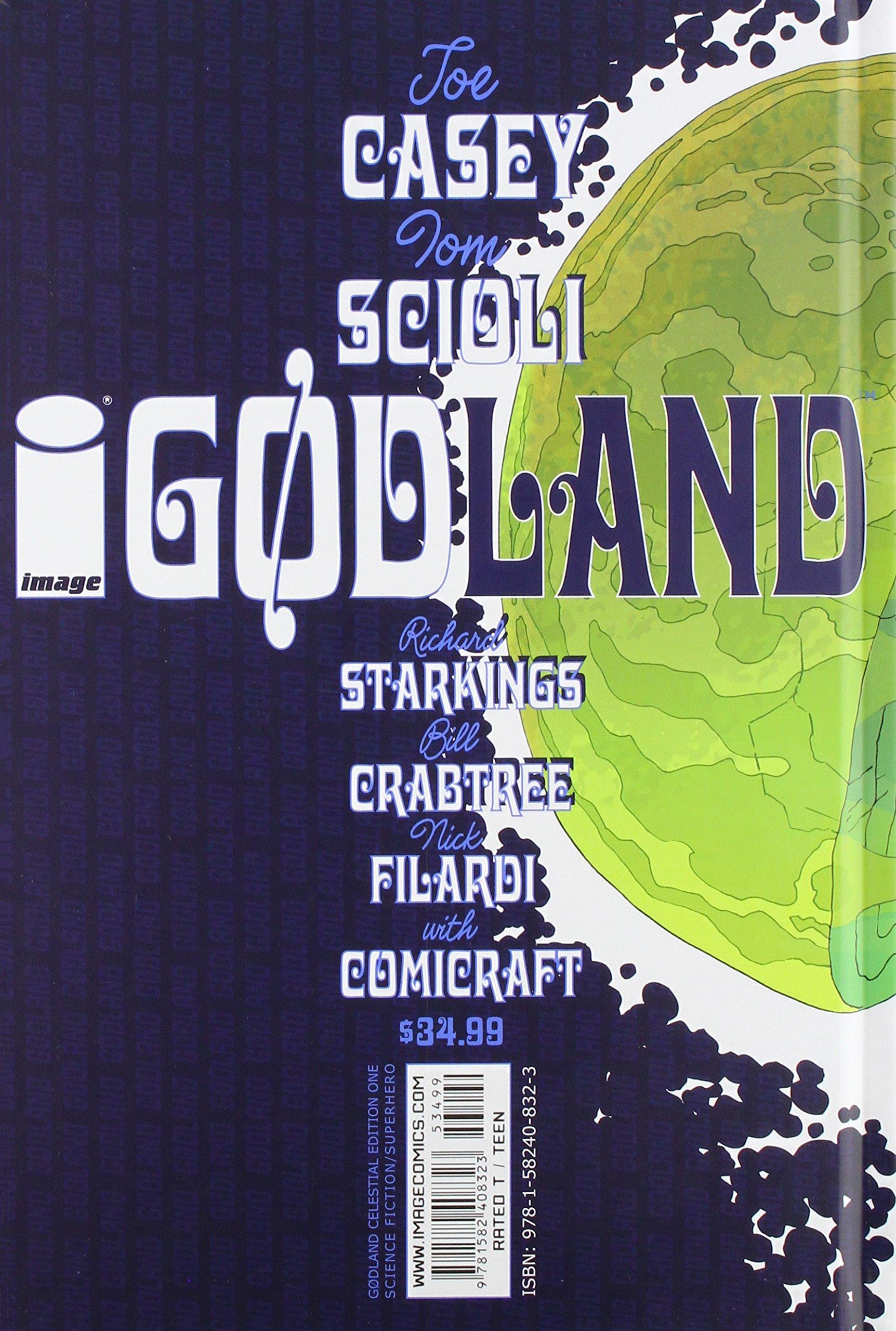 Godland HC Celestial Edition 2-1ST NM 2010 Stock Image